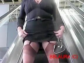 Best amateur stockings clip...