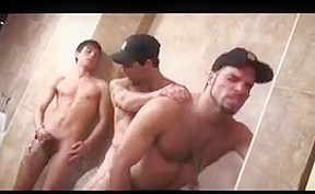 Two cops one twink toilet...