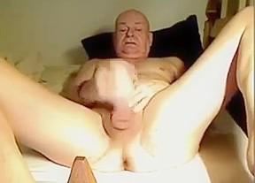 Masturbating hard...
