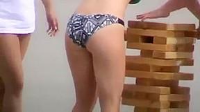 Bikini college girl...