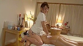 Girl massage clip...