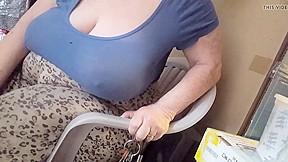 Granny big tits...