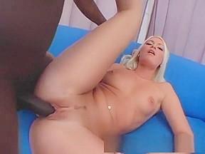 Creampie blonde porn scene...