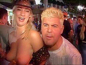 In exotic striptease video...