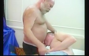 Old bear daddy fuck junior blonde mouth...