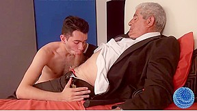Incredible homemade gay video with daddies young old...