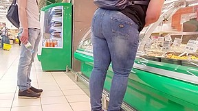 Woman ass want some fruits and salads...