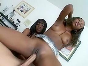 Horny in hottest interracial black and ebony xxx...
