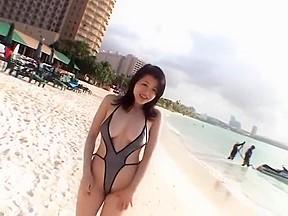 Amazing japanese slut shinobu ebihara bikini...