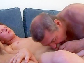 Russian daddy teaches two boys...
