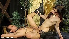 Dj in doms dj her willing handcuffed...