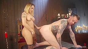 Will havoc in a sensual ts feast goddess...