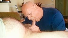 Chubby gets a blowjob...