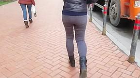 Nice russian black jeans...