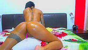 Ebony sex ass masturbation...