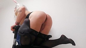 Stockings lingerie scenes...