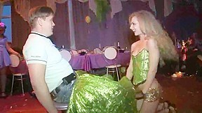 Exotic blonde video...