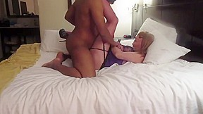 Horny sexy black guy and a sissy friend...