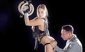 Alessandra jane raul costa in restraint babes...