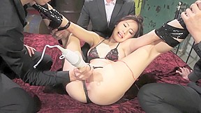 Hottest japanese girl milf toys jav scene...
