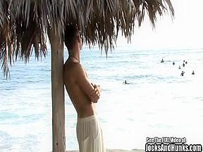 Fantastic beach boy...