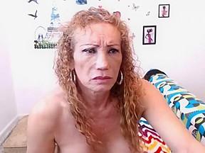 Sucks her sun in law then cums alone...
