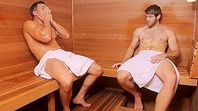Brenden cage colby keller sauna movie...