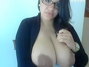 Chubby latina showing off webcam bbw pt2...