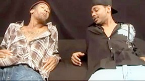 Gay is making love with his black lover...