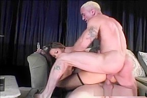 Keanni Lei Takes On Two In Hot Threesome