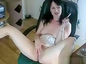 Great sexy body dark haired slut...