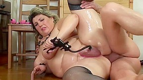 Fat moms first extreme porn lesson...
