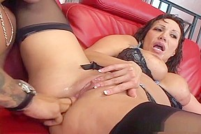 Ava Devine Has Booty Torn Up By Big Cock