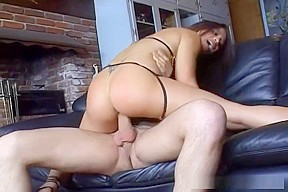 Jayna Oso Gets Cum Facial And Butt Gaping