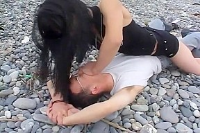 Japanese muscle girl worship...