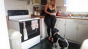 Spandex the kitchen...