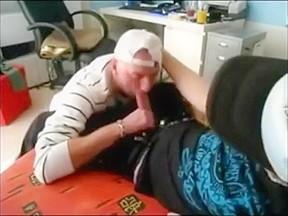 Getting head from gay friend...