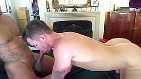 Black stud punishing his white bitch...
