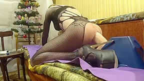 New year riding dildo pipedream king cock 12...