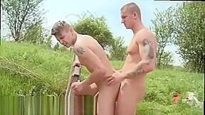 Porn gay male group masturbation public xxx anal...