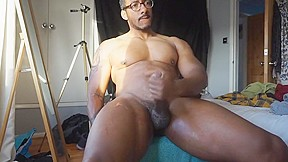 Cock cums 6 times...