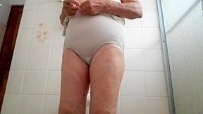 Granny shower part 2...