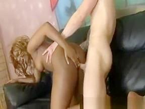 Ebony ass destroyed...