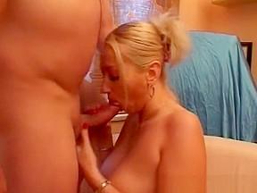 Blonde mom...