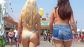 Beach asses...