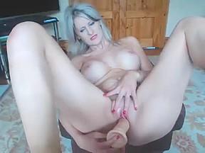 Huge melons boobs...