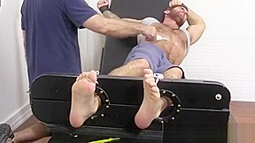 Gay twink rub feet fuck naked first time...