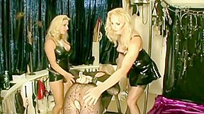 Sexy mistress abuse sissy and asshole part 2...