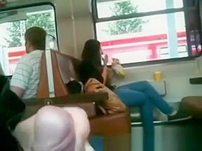 Canadian allday on train...