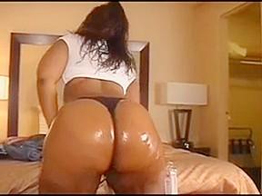 Big booty world oiled ass...